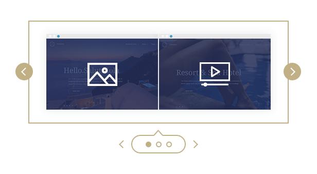 A Full-width Video Header