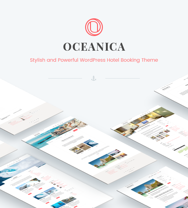 WordPress Hotel Theme - Oceanica - 2