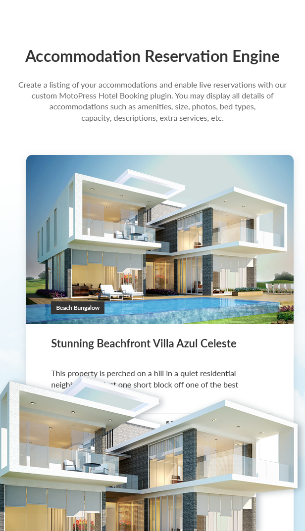 Villagio - Property Rental WordPress Theme