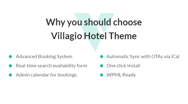 Villagio - Property Rental WordPress Theme - 1